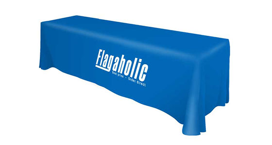 Front Logo Table Throw-3
