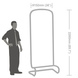 Flat Fabric Banner Stand-6