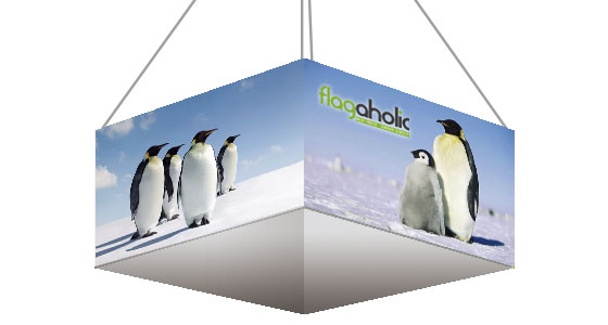 Square Overhead Hanging Banner