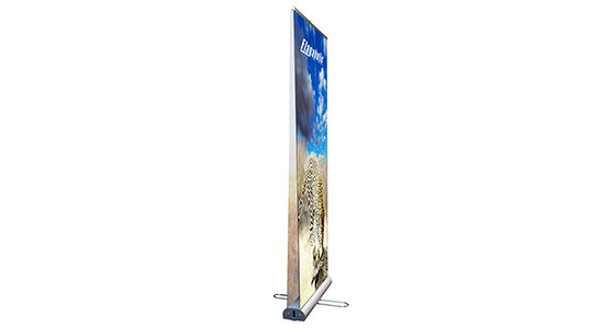 Double-Sided Retractable Banner Stand