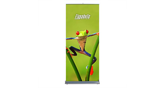 Retractable Banner Stand (Graphic interchangeable)